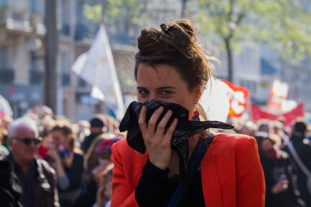 "Foto: Proteste in Frankreich unter dem Slogan ""Nuit debout"" / Kwikwaju / flickr.com / CC BY-NC 2.0"
